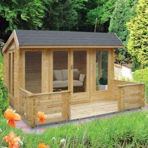 Wykenham Log Cabin