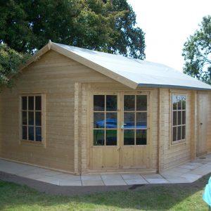 Livia And Ropsley Log Cabin