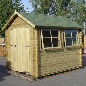 Solway Log Cabin