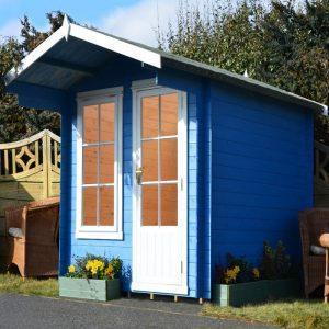 Crinan Log Cabin