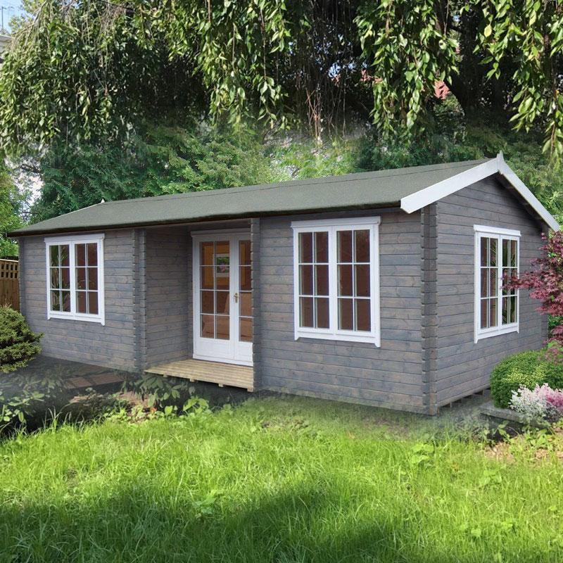 Elveden Log Cabin