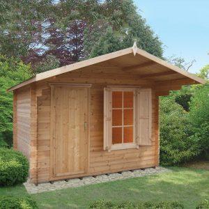 Hopton Log Cabin