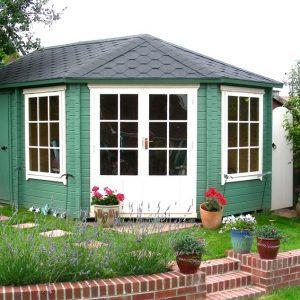 Leygrove & Rowney Log Cabin
