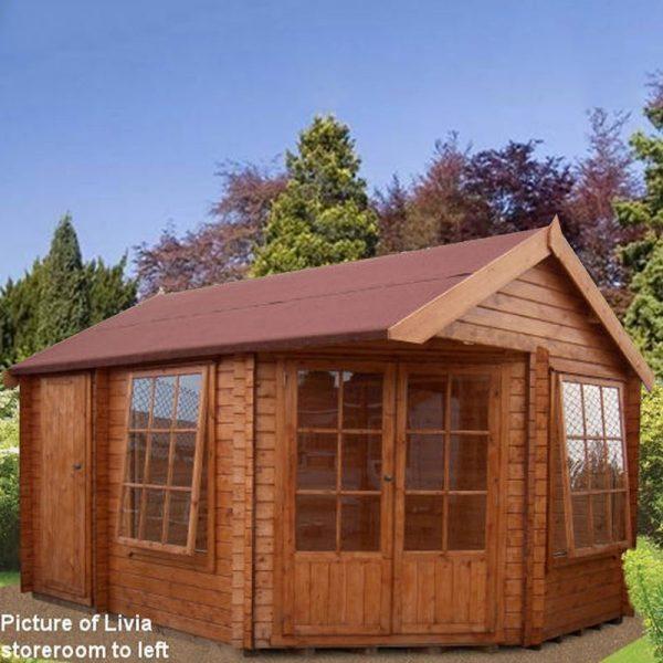 Livia & Ropsley Log Cabin