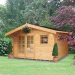 Tunstall Log Cabin