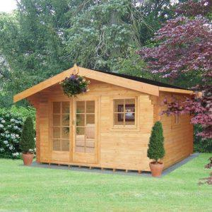 Tunstall Log Cabin